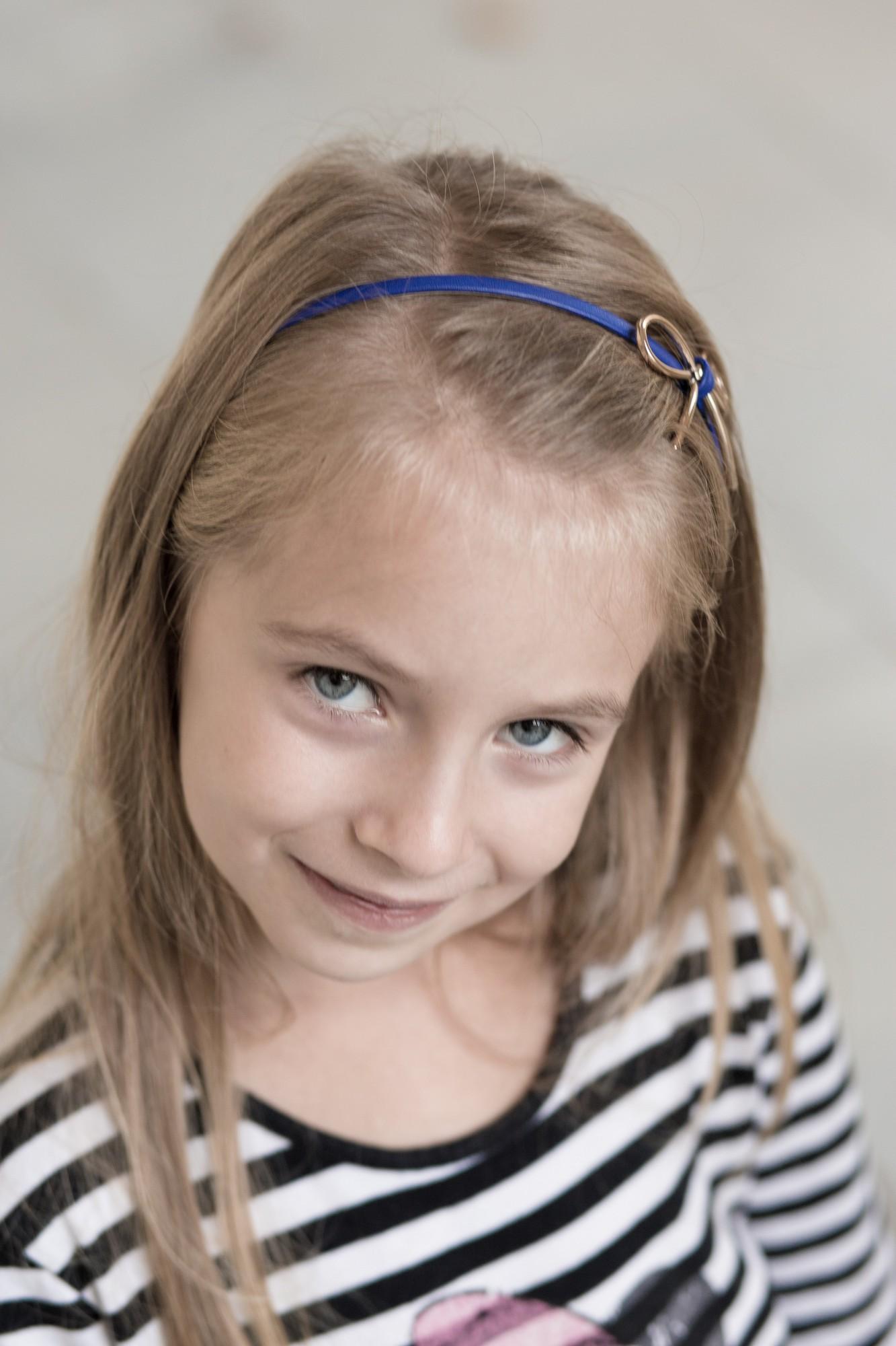 Zdjęcie prześlicznych oczu blondynki