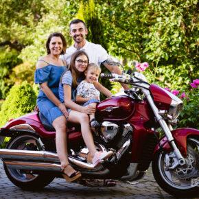 Wakacyjna sesja rodzinna
