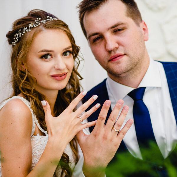 Ślub Lucyny i Kamila